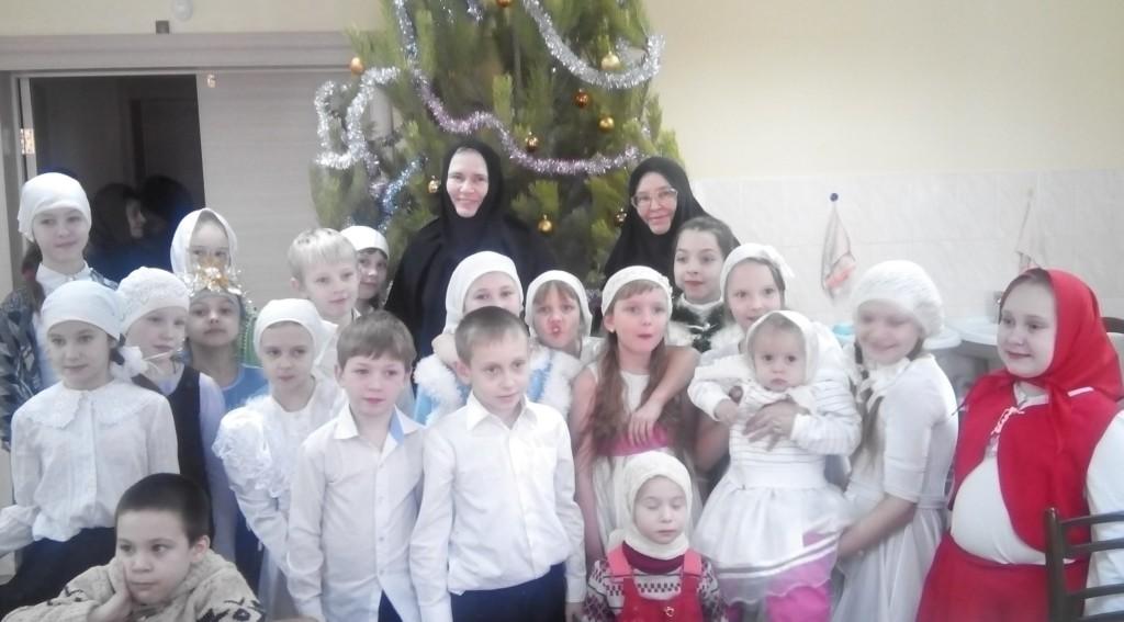 елка. дети 2016