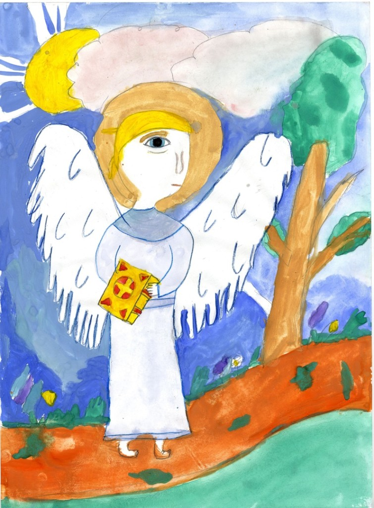 Ангел спешащий