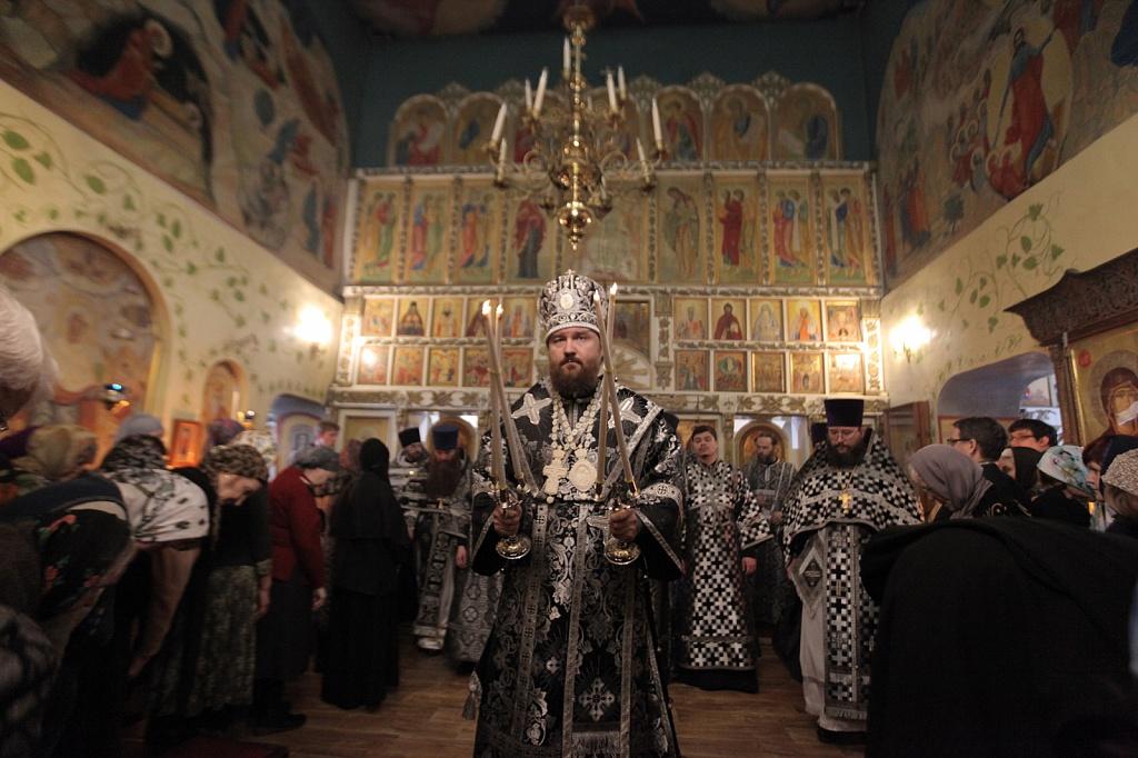 Литургию Преждеосвященных Даров